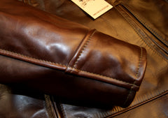 Aero Highwayman, sz 50, Brown Chromexcel FQHH