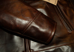 Aero Highwayman, sz 44 (fits like size 48), Brown Chromexcel FQHH
