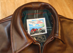 Aero Highwayman, sz 40 (fits like 44), Brown Chromexcel FQHH