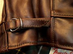 Aero Highwayman, sz 48 (fits like size 52), Brown Chromexcel Horsehide