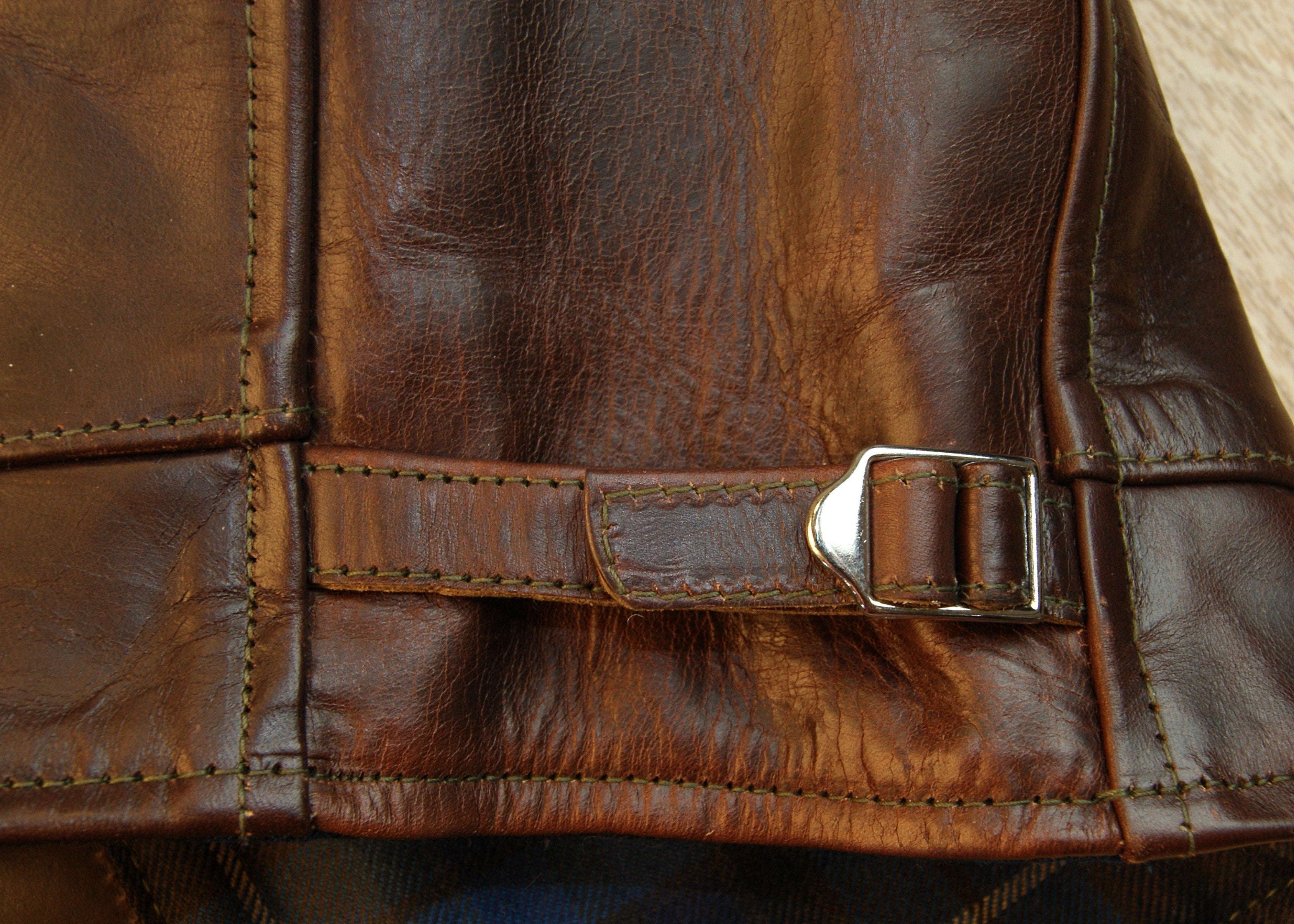 Aero Highwayman, sz 46 (fits like size 50), Brown Chromexcel Horsehide