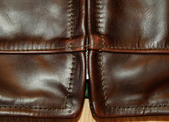 Aero Highwayman, sz 40 (fits like 44), Brown Chromexcel Steerhide