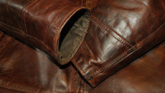 Used Aero Highwayman, sz 44, Brown Chromexcel Steerhide