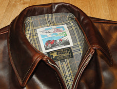 Aero Highwayman, sz 46, Brown Chromexcel Steerhide