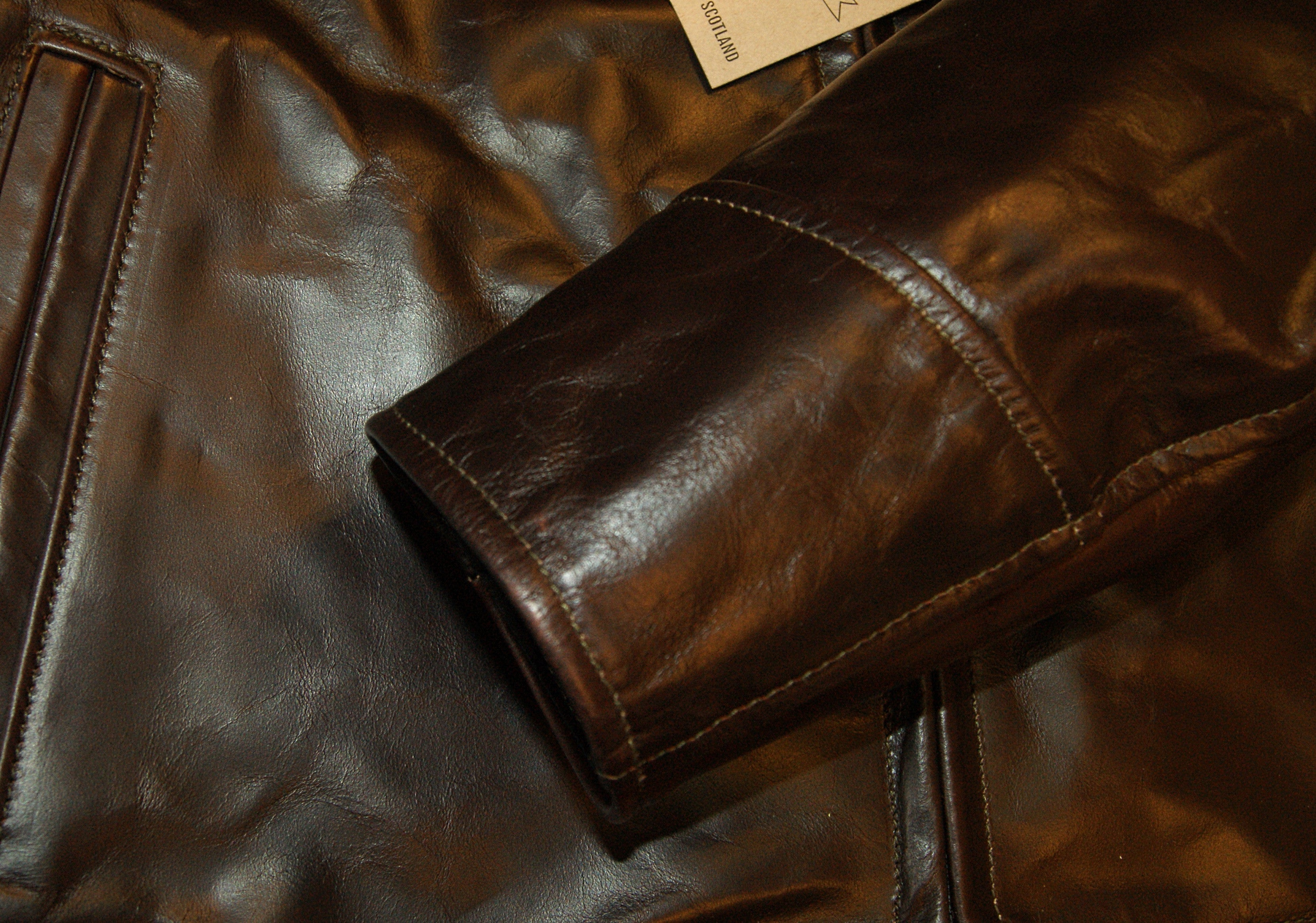 Aero Highwayman, sz 48 (fits like size 52), Brown Chromexcel Steerhide