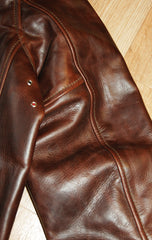 Aero Highwayman, sz 40, Brown Chromexcel Steerhide
