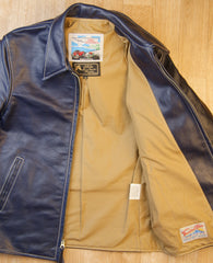Gently Used Aero Sunburst with Premier fit, sz 38, Blue Vicenza Horsehide
