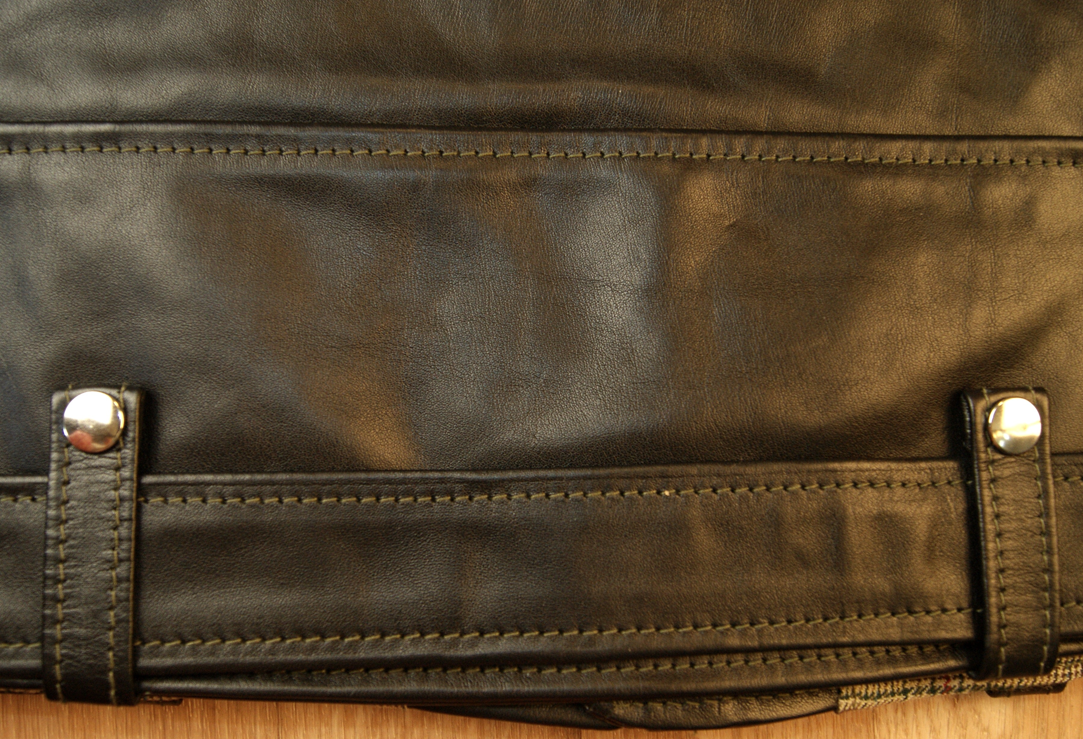 Aero D-Pocket Ridley, size 38, Black Vicenza Horsehide