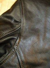 Aero D-Pocket Ridley, size 42, Black Vicenza Horsehide
