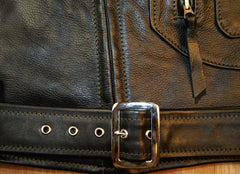 Aero D-Pocket Ridley, size 44, Black Vicenza Horsehide