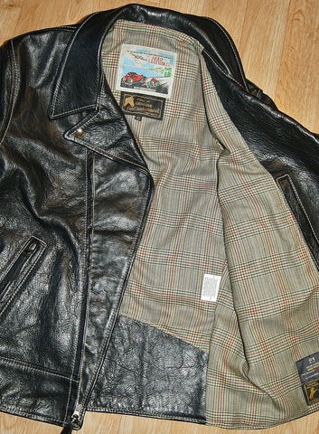 Aero Ridley, size 42, Black Vicenza Horsehide