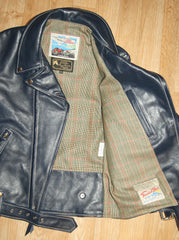 Aero D-Pocket Ridley, size 38, Blue Vicenza Horsehide