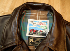 Aero D-Pocket Ridley, size 40, Dark Seal Vicenza Horsehide