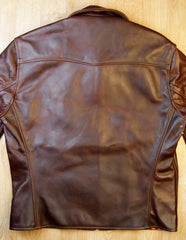 Aero Sheene, size 44, Brown CXL Horsehide