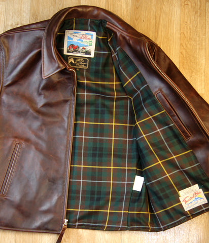 Aero Sheene, size 42, Brown CXL Horsehide