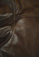 Aero Stockman, size 42 (fits like size 46), Dark Seal Vicenza Horsehide