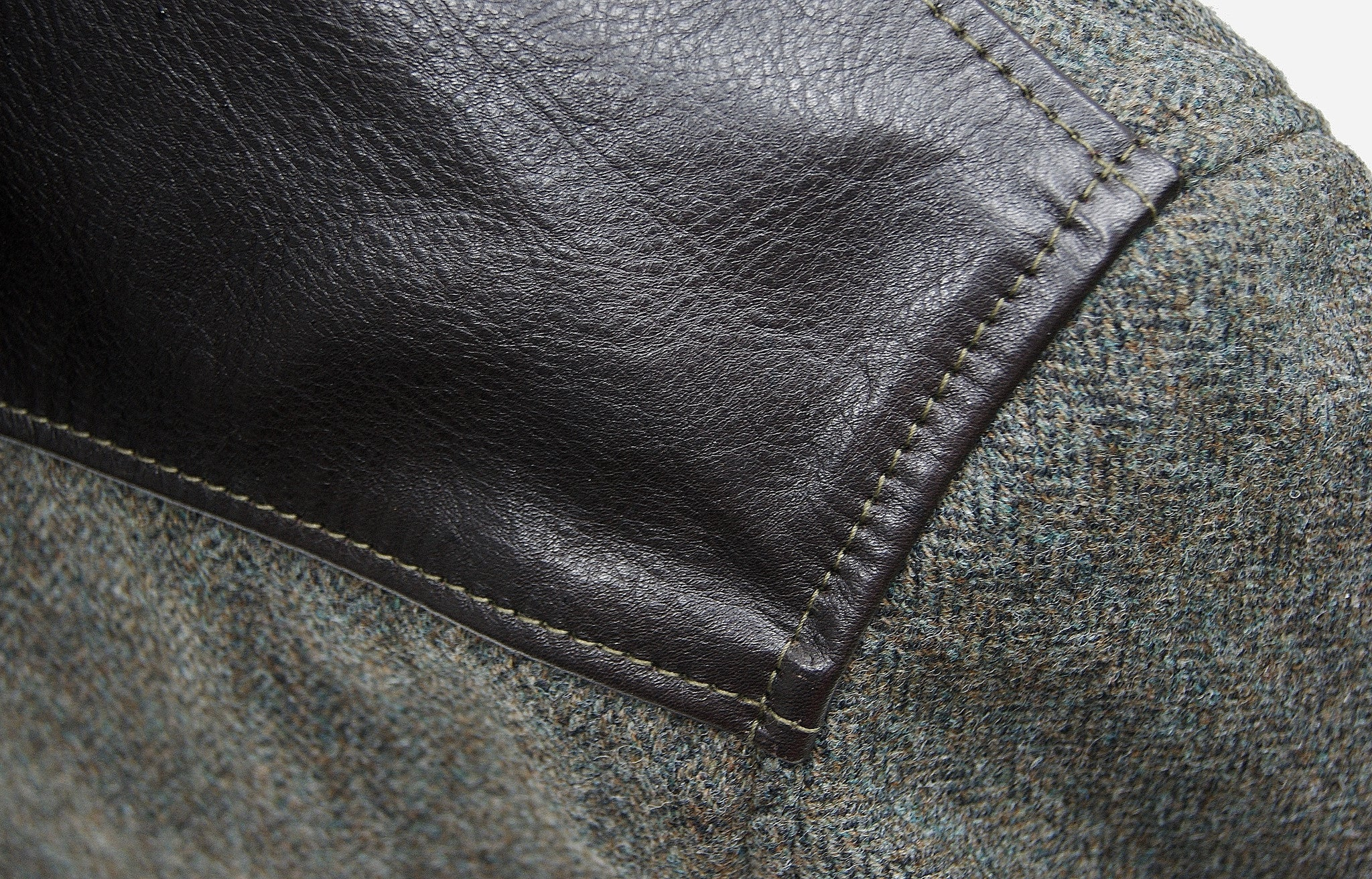 Aero Tweed and Horsehide STF Slimfit Bootlegger
