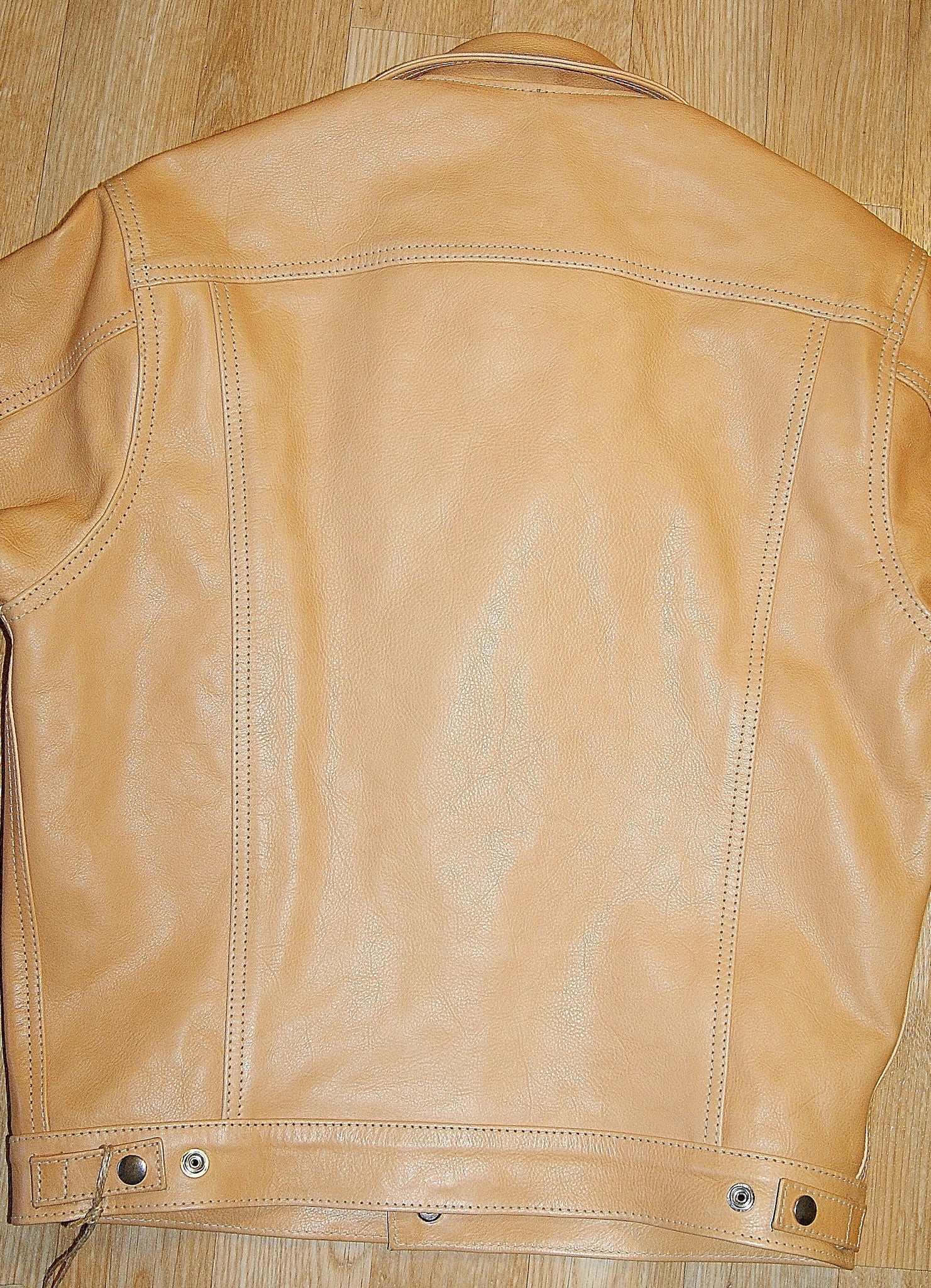 Aero Type 3 Jean Jacket, size 38, Natural Vicenza Horsehide