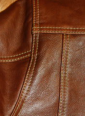 Aero Type 3 Jean Jacket, size 40, Russet Vicenza Horsehide