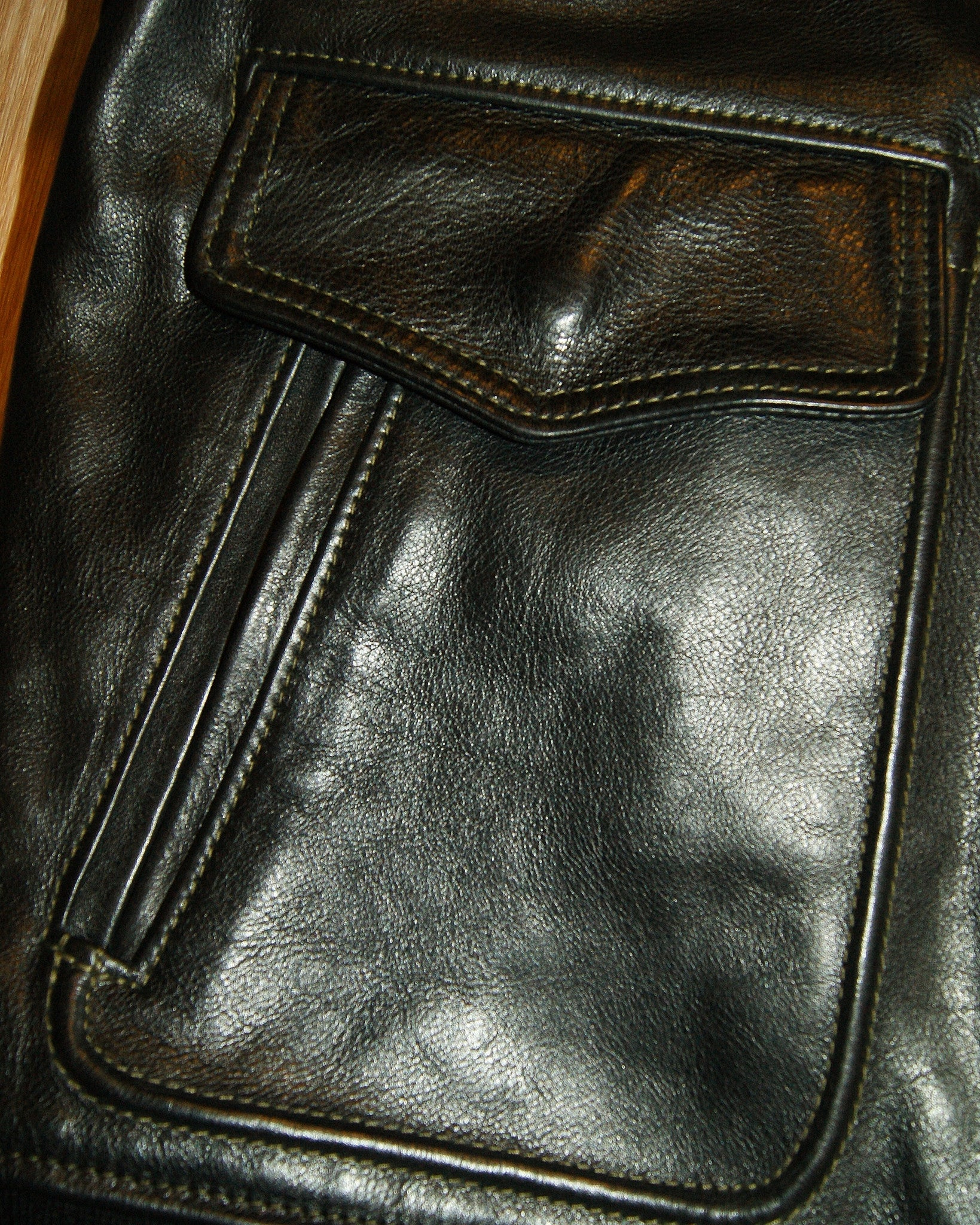 Aero Reversible Waterfront, sz 42, Black Vicenza Horsehide
