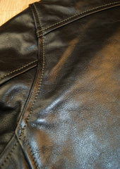 Aero Wayfarer, size 46, Blackened Brown Vicenza Horsehide