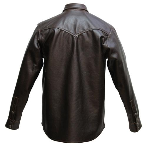 Aero Western Leather Shirt