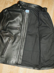Pacific Cycle Four-Pocket, size 38, Black Cowhide