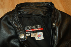 Vintage Brooks Cafe Racer Jacket, size 34