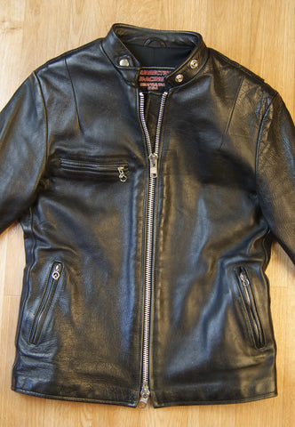 Insurrection Racing Women's Cafe Racer Jacket, size L, Used