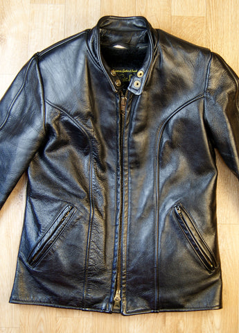 Ladies Vintage Pasaic Cafe Racer Jacket