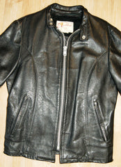 Vintage Excelled Cafe Racer Jacket, size 36