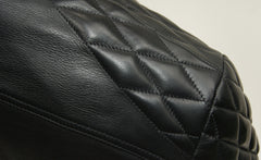 Thedi x Thurston Black Horsehide Phenix Quilted Cafe' Racer