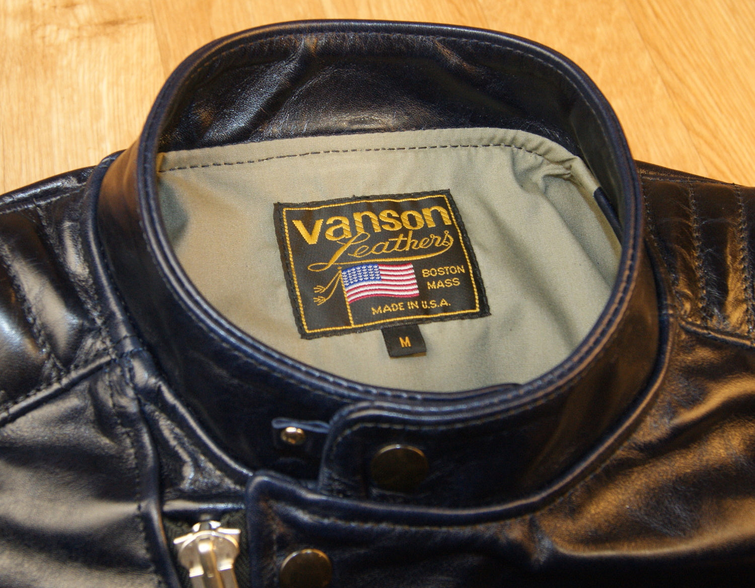 Vanson Portland, Abyss Blue Bainbridge Multiple Sizes