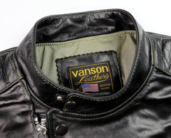 Vanson Portland, Black Bainbridge, size Large (42)