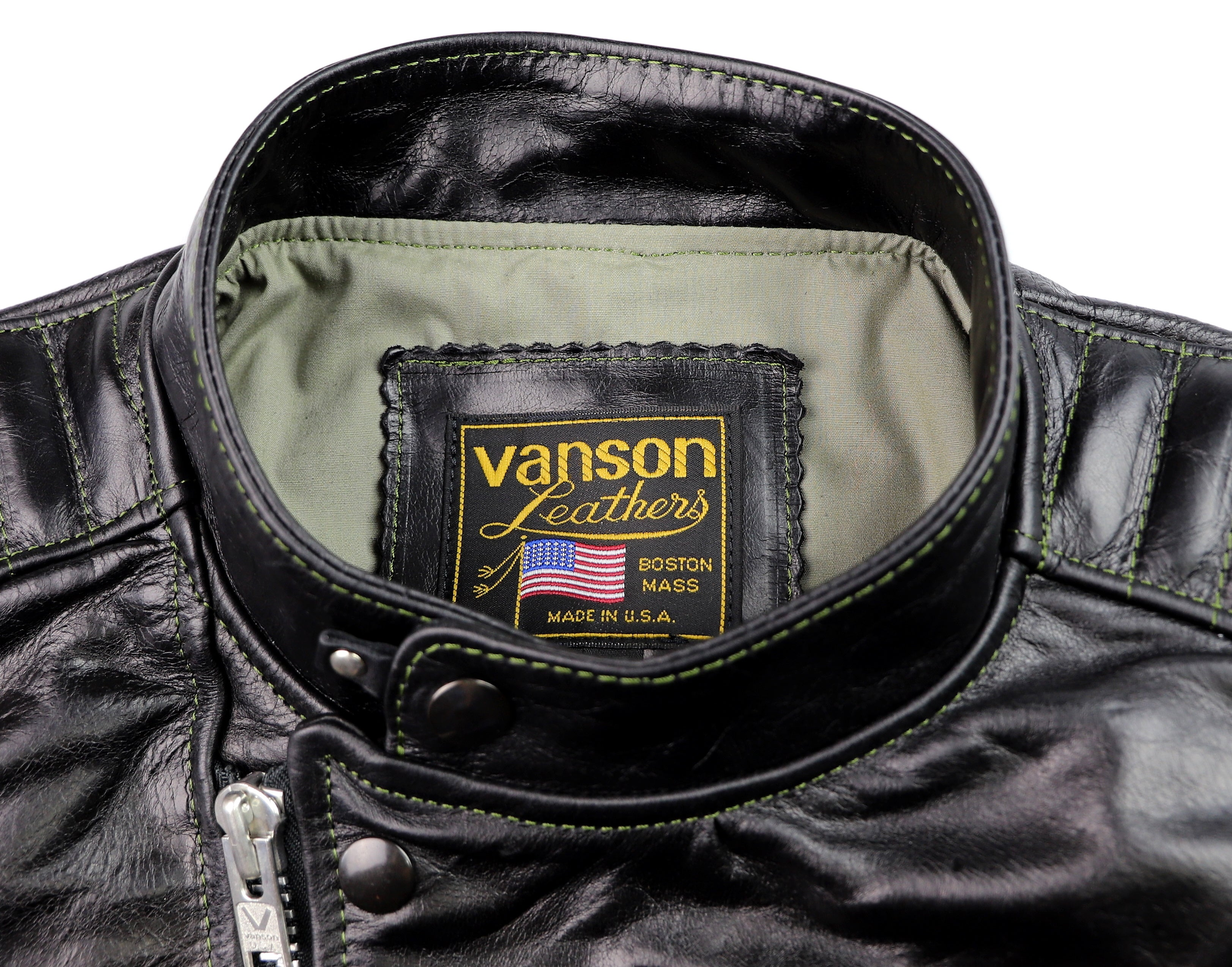 Vanson Portland, Black Bainbridge, size L/XL (44)