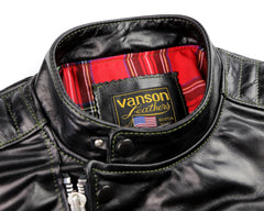 Vanson Portland, Black Bainbridge, size XL (46)