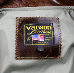 Vanson Portland, Dark Maple Bainbridge, size Large (42)
