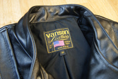 Vanson Chopper Jacket, size 36