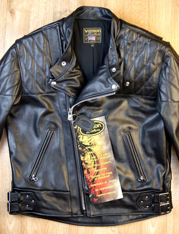 Vanson Chopper Jacket, size 46