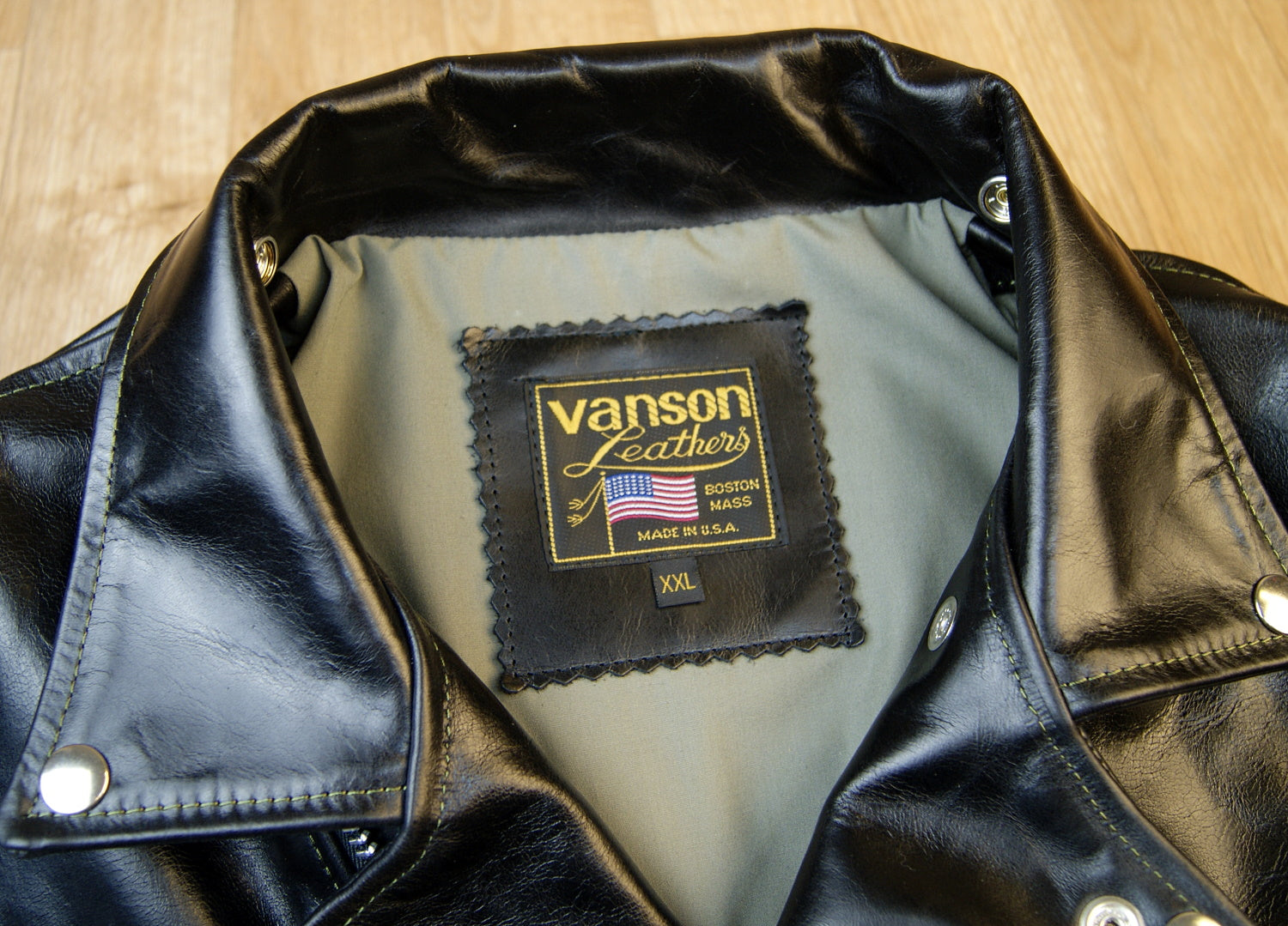 Vanson Daredevil, Black Bainbridge, size XXL