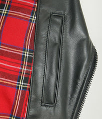 Vanson Daredevil, size Medium, Red Plaid Lining, Z150 Cowhide