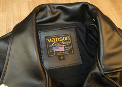 Vanson Daredevil, Black Z150, size Medium