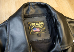 Vanson Daredevil, Black Z150, size Small (32)