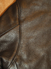Vanson Gambler in Brown Cowhide
