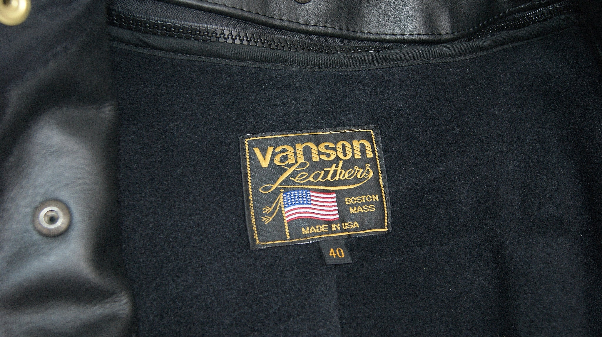 Vanson House Jacket, size 40
