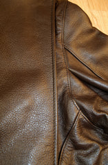 Vanson Model B, Brown Cowhide, size 42