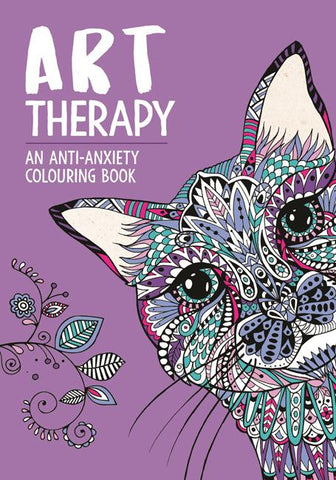 Art Therapy: Anti-Anxiety Colouring Book