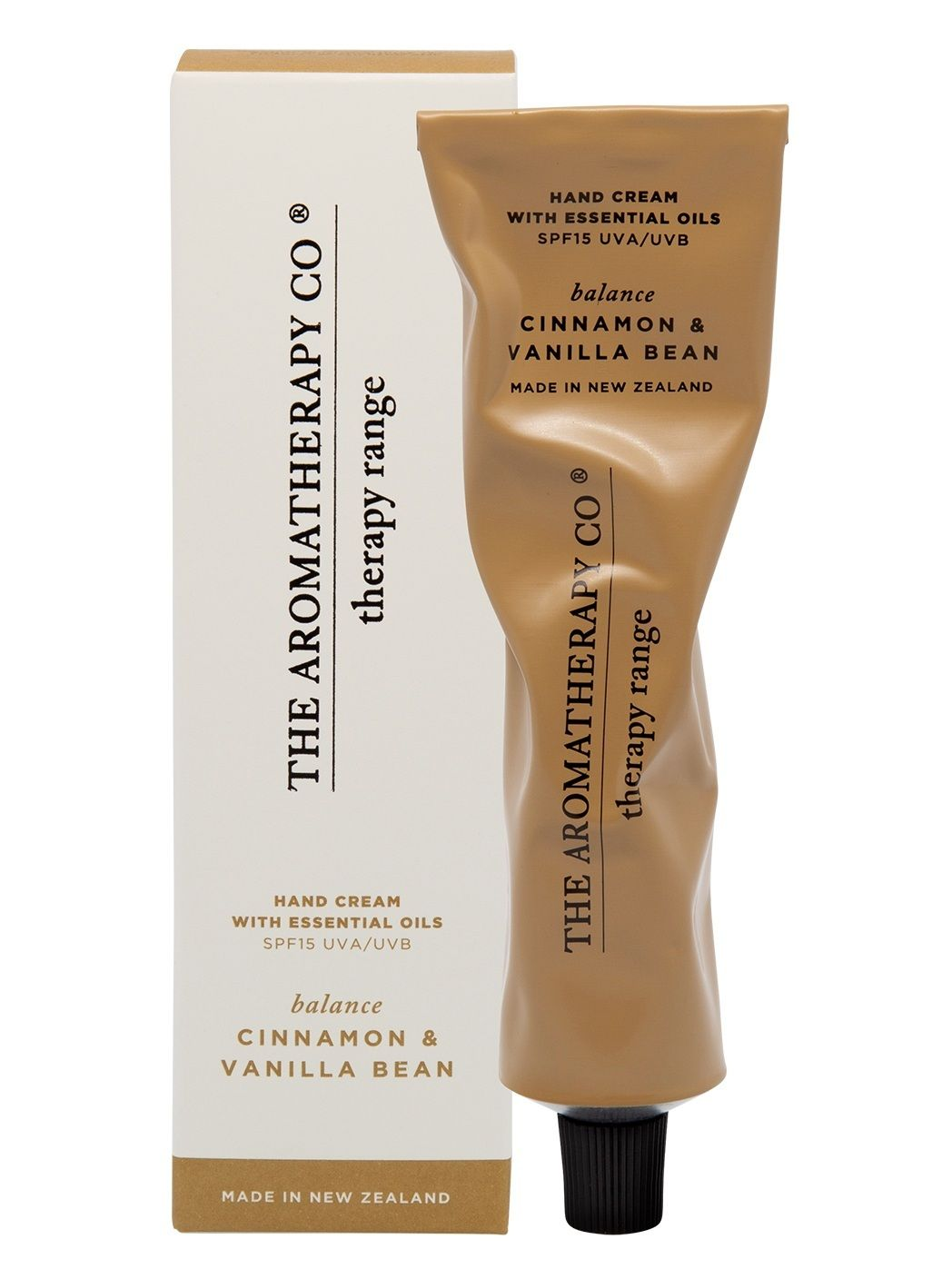 Therapy Hand Cream Balance 75ml - Cinnamon and Vanilla Bean - Pookipoiga