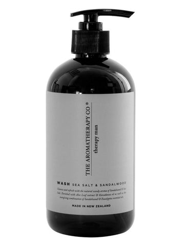 The Aromatherapy Co Hand and Body Wash - Sea Salt and Sandalwood -Face and Body Melbourne