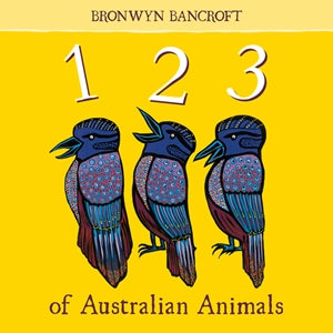 Hardie Grant Books 123 of Australian Animals Kids Book -Books Melbourne